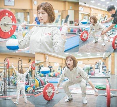 Фея тяжёлой атлетики Ким Бок Чжу